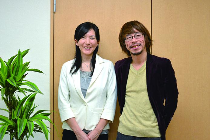 株式会社ラ・ミューテスタイルの中島陽子社長(左)とDM0代表・田村(右)