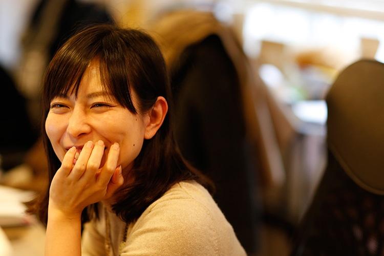 社員インタビュー ダイレクトマーケティングゼロ 萩原良子 写真