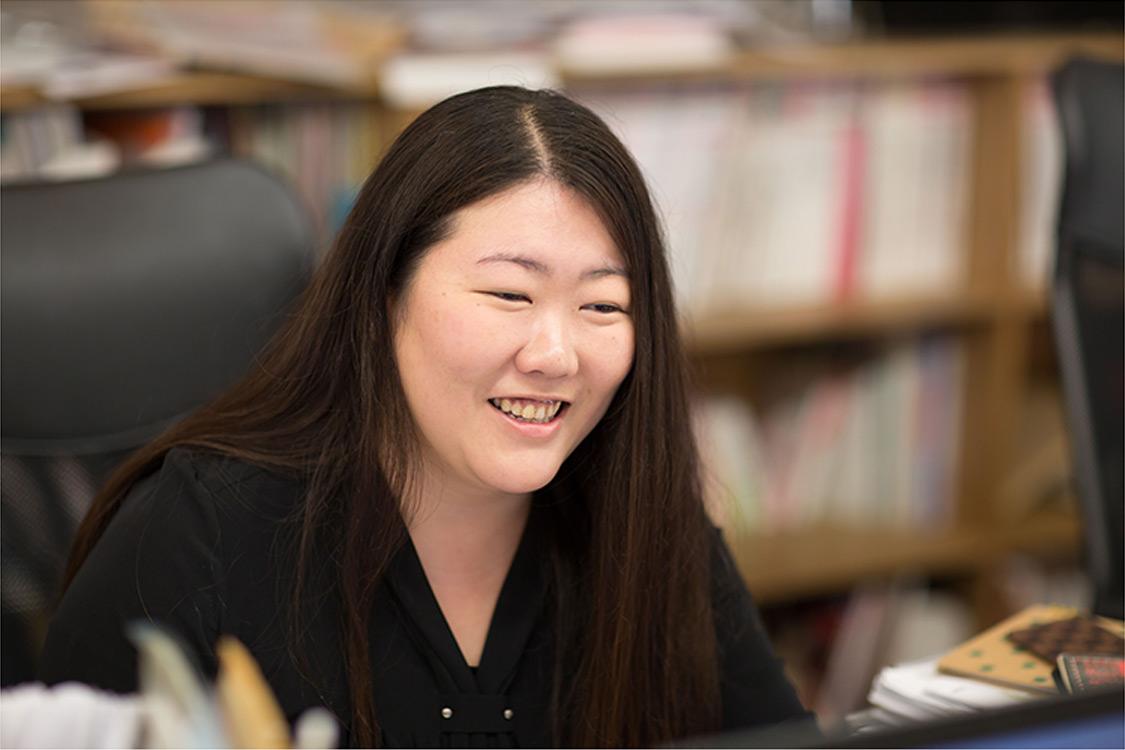 社員インタビュー ダイレクトマーケティングゼロ 床井奈美 写真